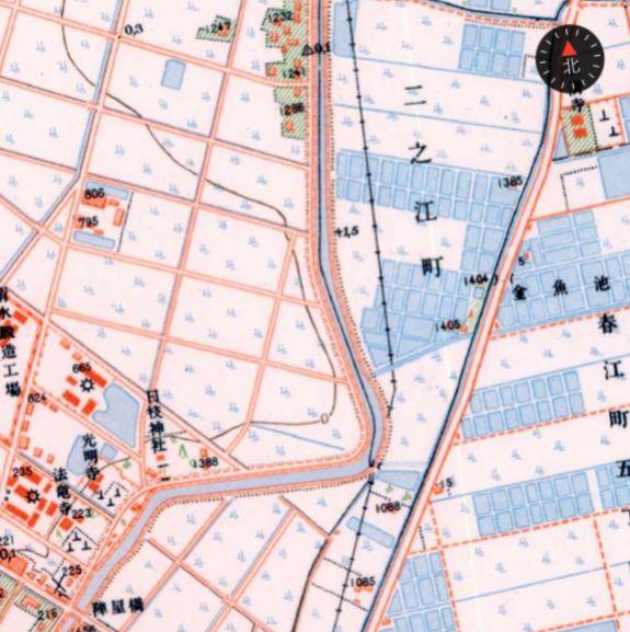 船堀 古地図