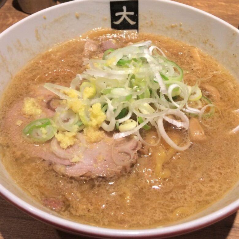 ラーメン大島 味噌(790円)
