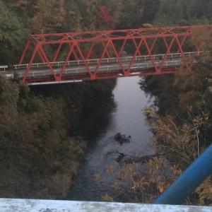 養老渓谷 赤い橋