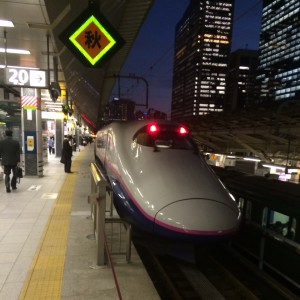 上越新幹線 東京駅