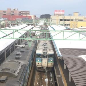 高田駅 信越線