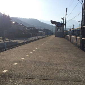 大糸線 姫川駅