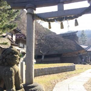糸魚川 能生駅 白山神社