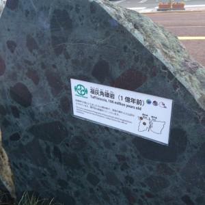 糸魚川 岩石11 凝灰角礫岩