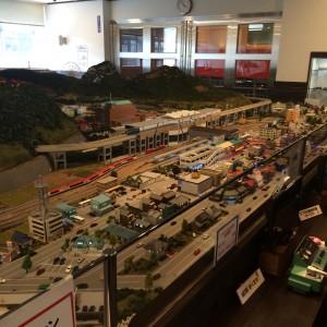 鉄道模型 ジオラマ 糸魚川駅