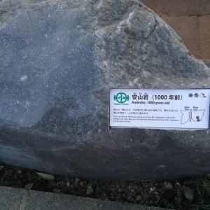 糸魚川 岩石17 安山岩