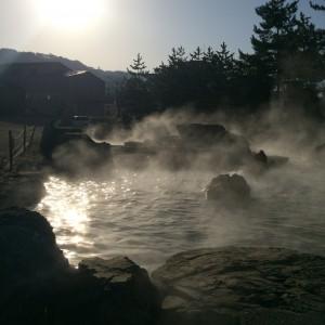 糸魚川温泉 露天風呂