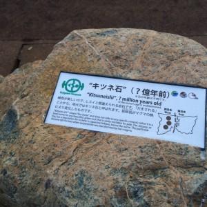糸魚川 岩石3 キツネ石