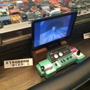 糸魚川駅 鉄道模型 運転台