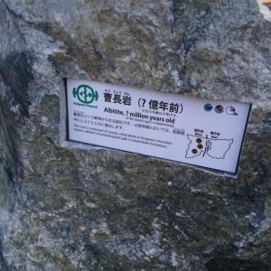 糸魚川 岩石4 曹長岩