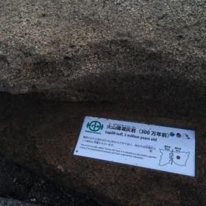 糸魚川 岩石15 火山礫凝灰岩