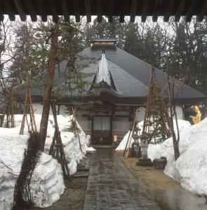 飯山駅 寺の町