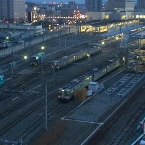 北陸新幹線が見えるホテル