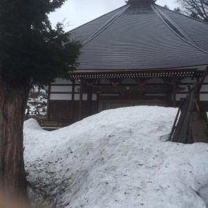 飯山駅 豪雪地帯