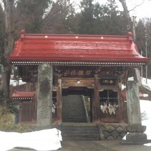 飯山駅 寺の町 小京都