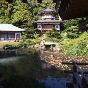 光明寺 庭園