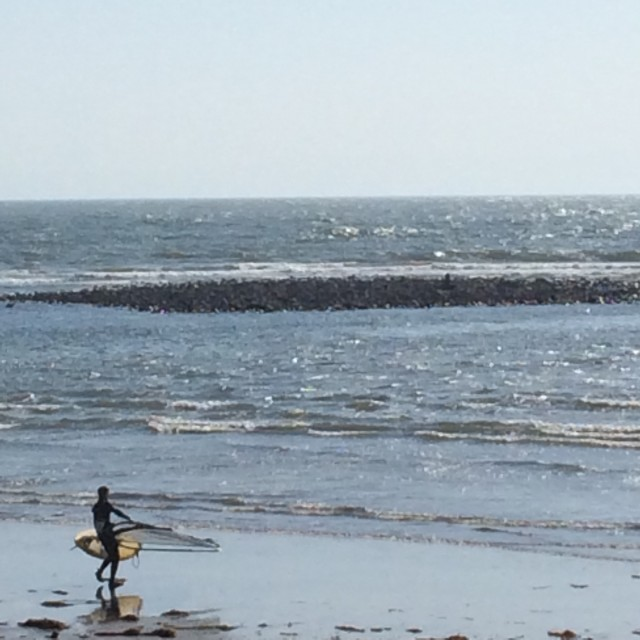 和賀江嶋 材木座海岸