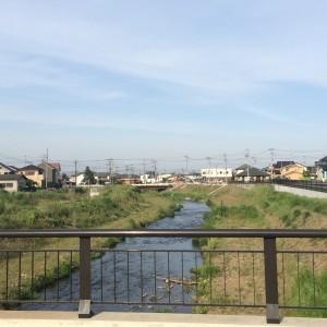 武蔵高萩駅 小川