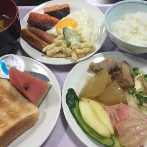ビジネスホテルニュープラザ 朝食