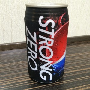 ペプシストロングゼロ 缶