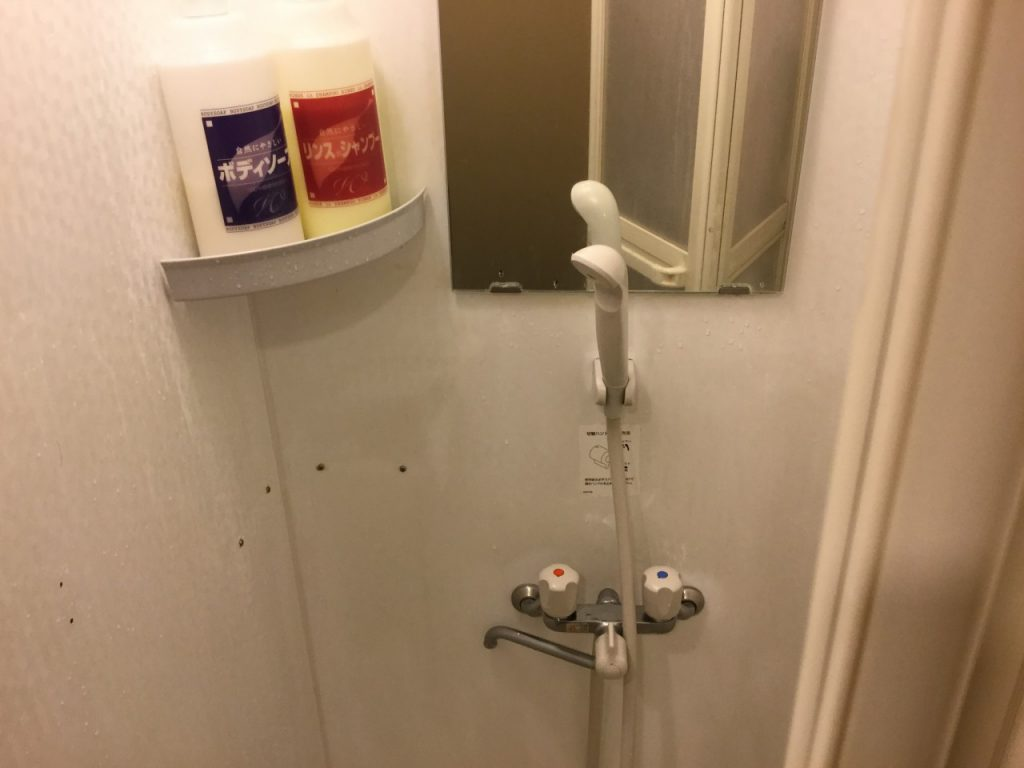 快活クラブ シャワー