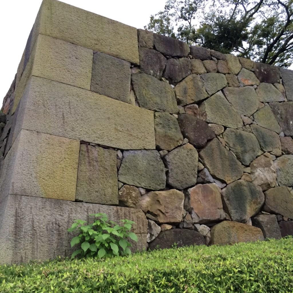 駿府城 石垣