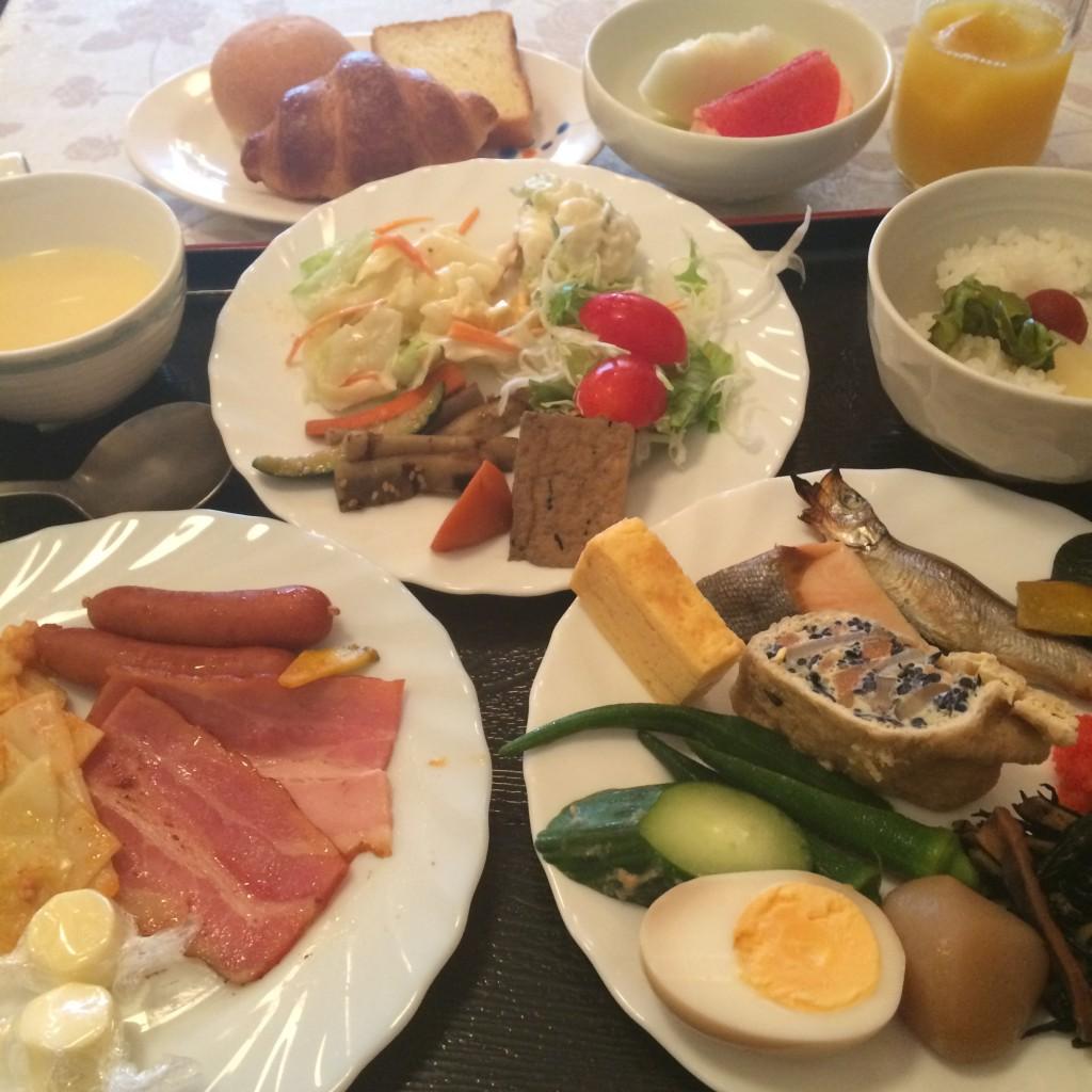 ターミナルイン新潟 朝食バイキング
