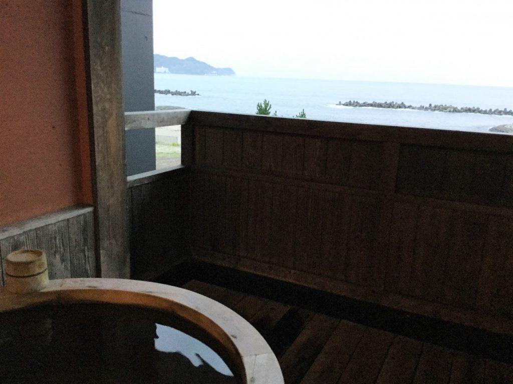 土肥温泉 客室露天風呂