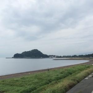 沼津 御用邸付近 海
