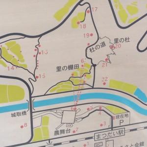 まつだい駅 棚田 地図