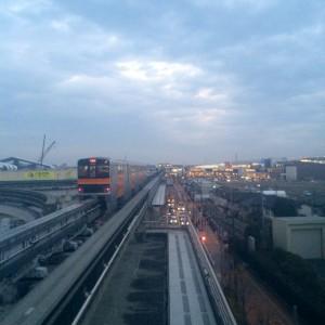 高松駅からららぽーと立川を見る