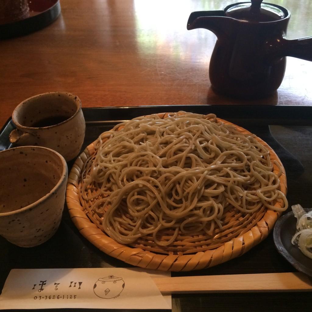 江戸蕎麦ほそ川(世界501位)