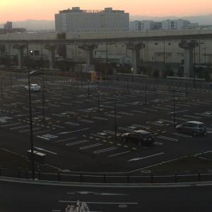 ららぽーと立川立飛 駐車場