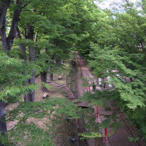 上田城外堀