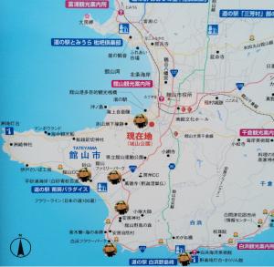 館山 観光マップ