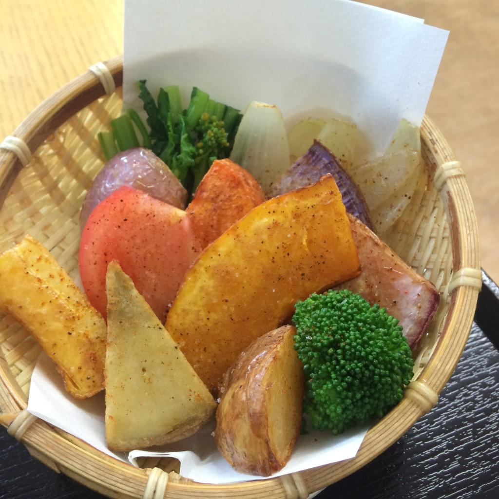 鎌倉野菜 素揚げ かん太