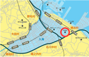 中華街地図