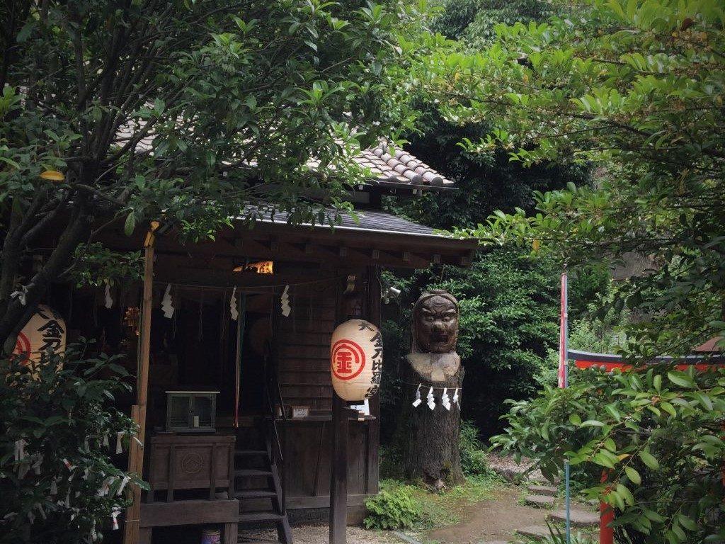 大綱金刀比羅神社/ブラタモリ横浜