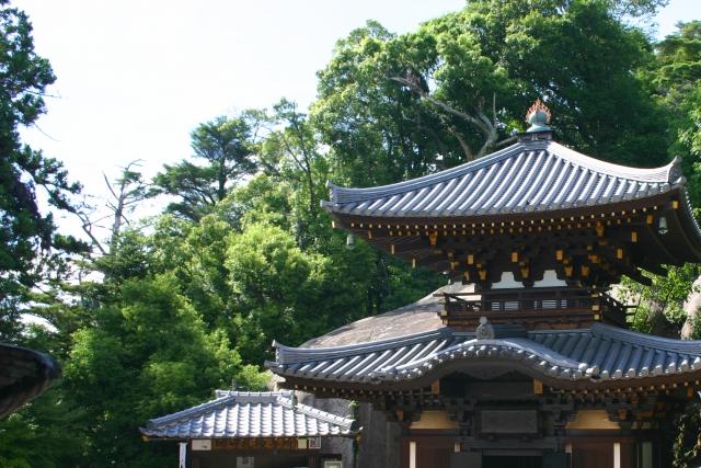 弥山の霊火堂