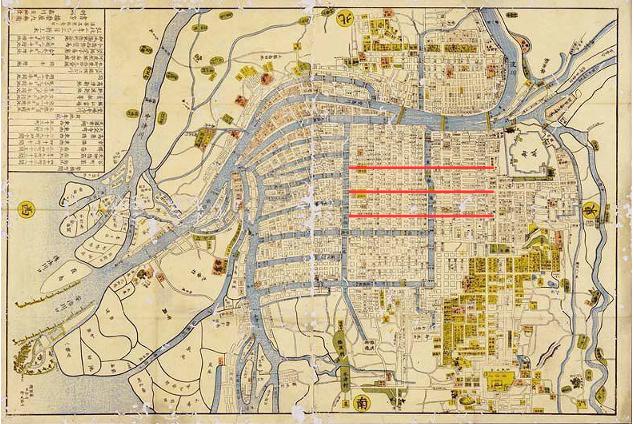 大阪 古地図