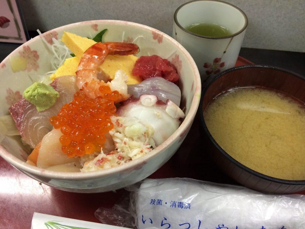 味館食堂 海鮮丼