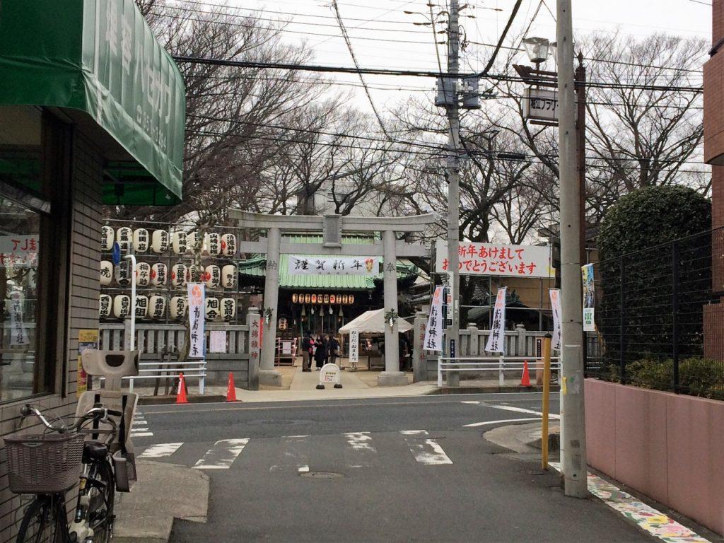 浦安 清瀧神社