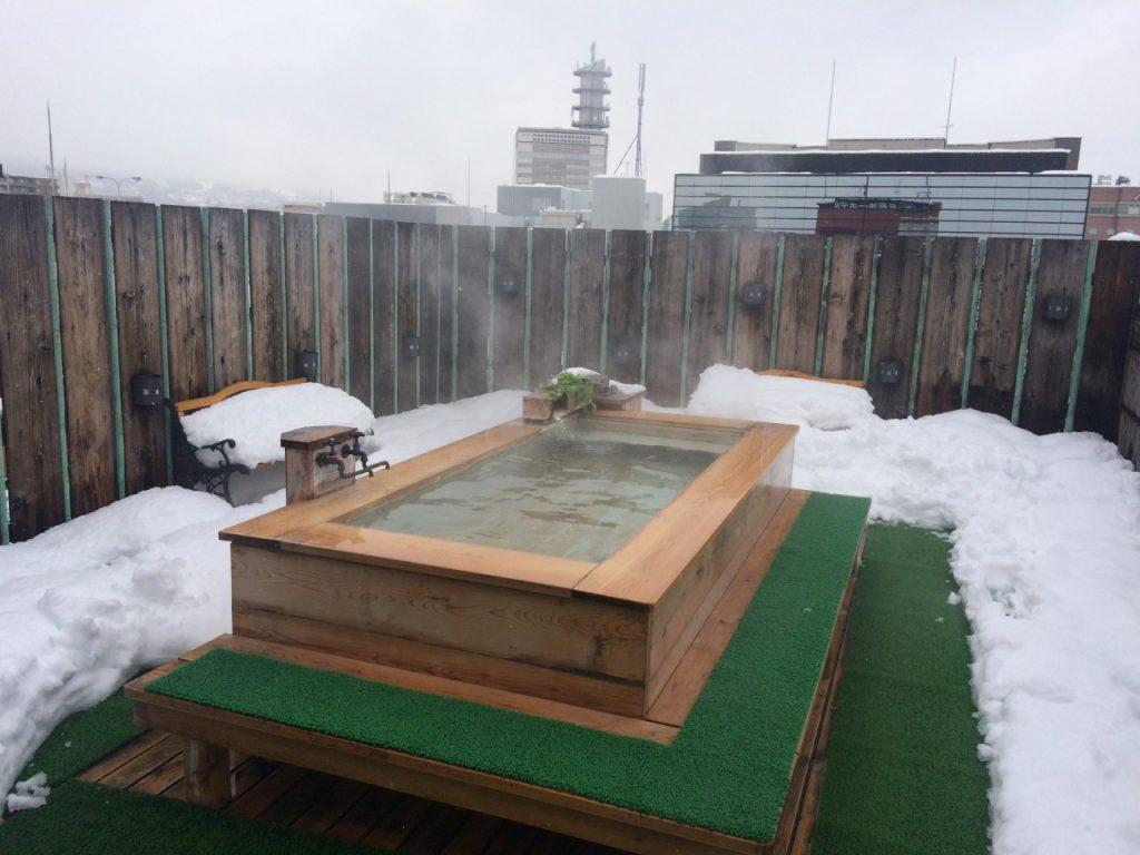 長野第一ホテル 露天風呂