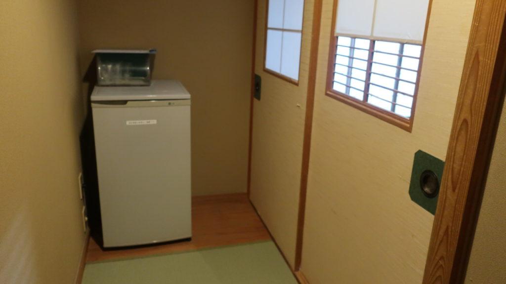お宿だいろくの冷蔵庫