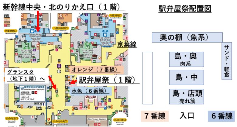 駅弁屋 祭 アクセスマップ