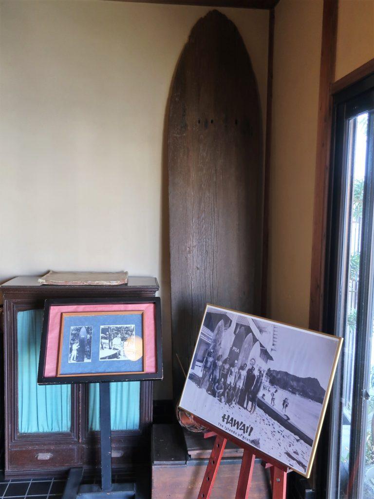日本最古のサーフボード