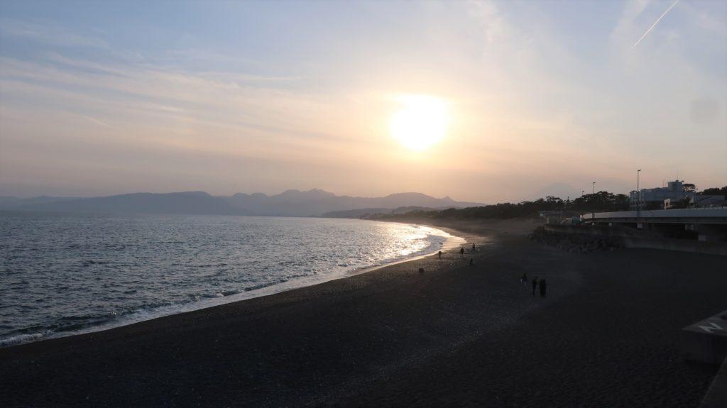 大磯の照ヶ浜海岸