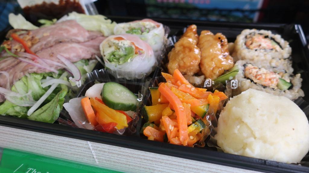 1080円のサラダ弁当(sarad bento)