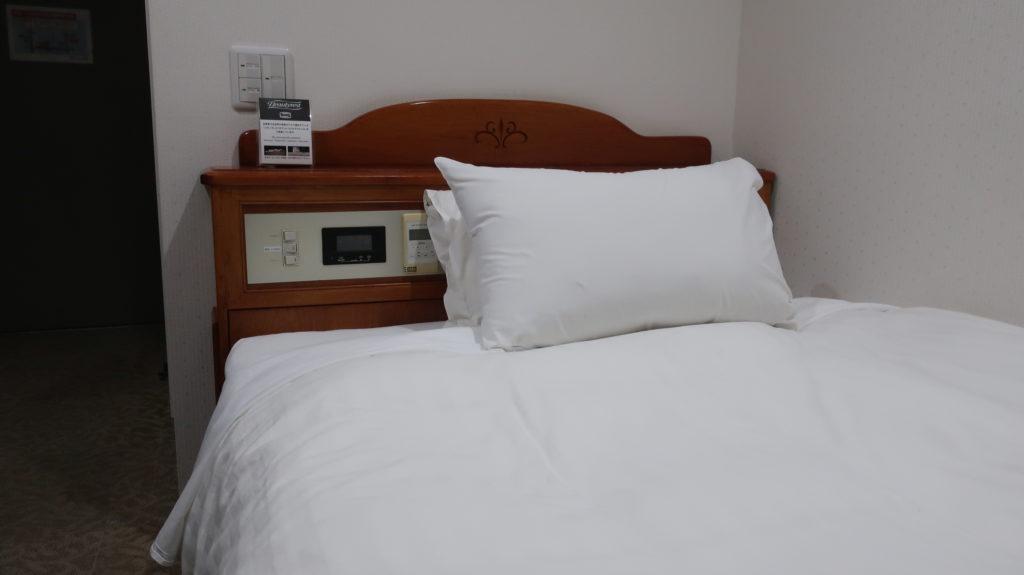 ホテルパークイン高崎のベッド