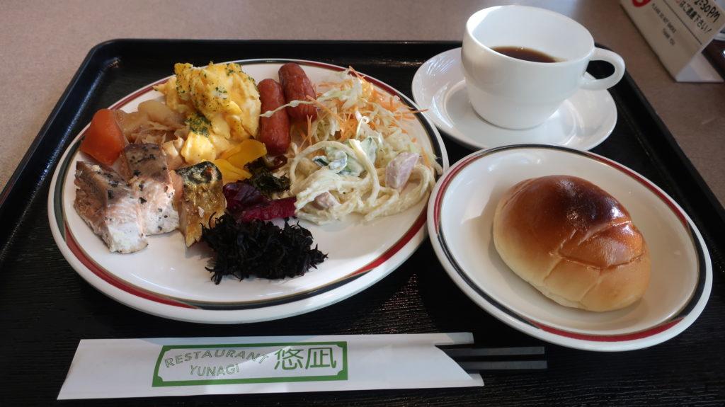 ホテルニューグリーン柏崎の朝食